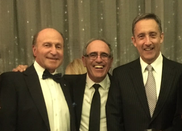 With MWU VP Tom Goldman and ISC chair Harry Procel in Melbourne, Australia